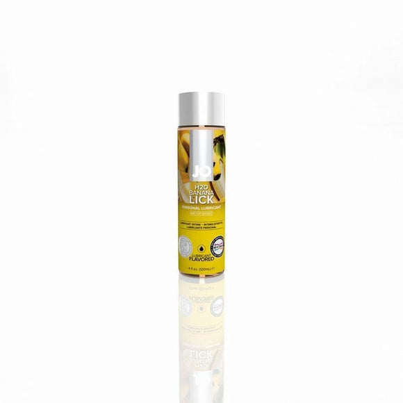 JO H2O BANANA LICK 4 OZ FLAVORED LUBE -JO40173