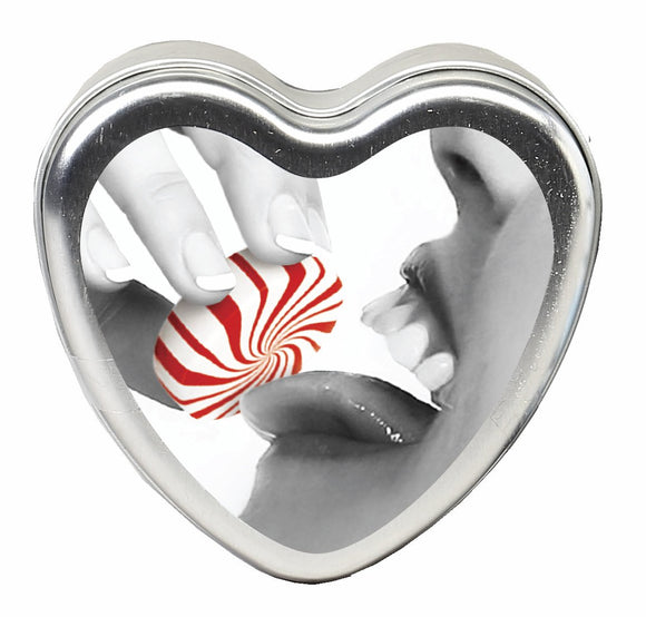 CANDLE 3-IN-1 HEART EDIBLE MINTASTIC 4.7 OZ -EBHSCK008