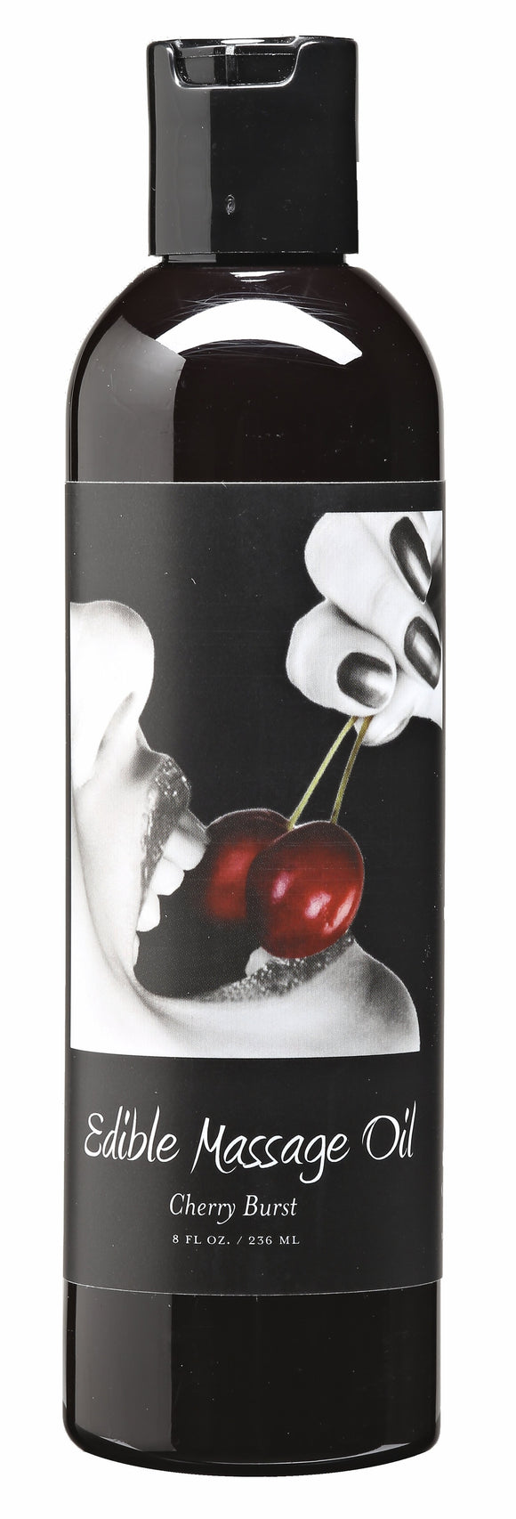 MASSAGE OIL EDIBLE CHERRY 8 OZ -EBMSE001