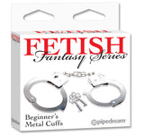 Fetish Fantasy Series Beginner's Metal Cuffs PD3800-00