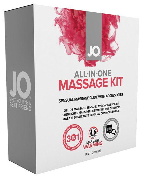 JO All-In-One Massage Kit (Silicone)