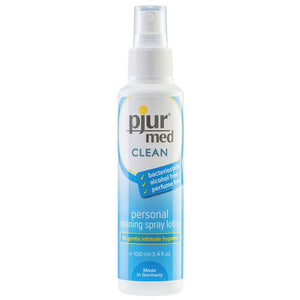 pjur med CLEAN personal cleaning spray lotion 3.4oz