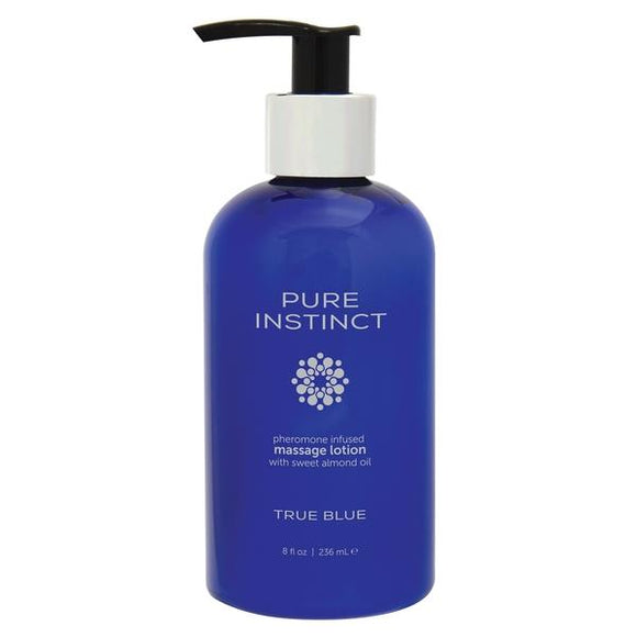 Pure Instinct Pheromone Infused Massage Lotion With Sweet Almond Oil 8 oz