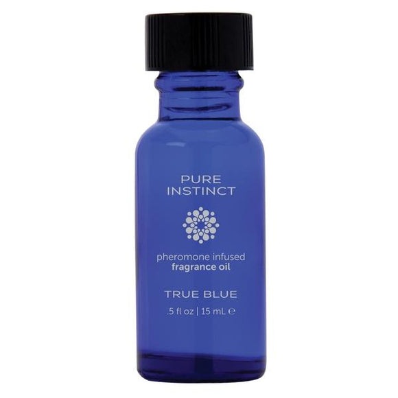 Pure Instinct  True Blue Pheromone Infused Oil For Her