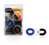 Stay Hard - Donut Rings - BL-00899