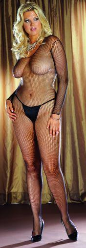BODY STOCKING BLACK OS QUEEN INAMSTERDAMIN -DG0015XBK
