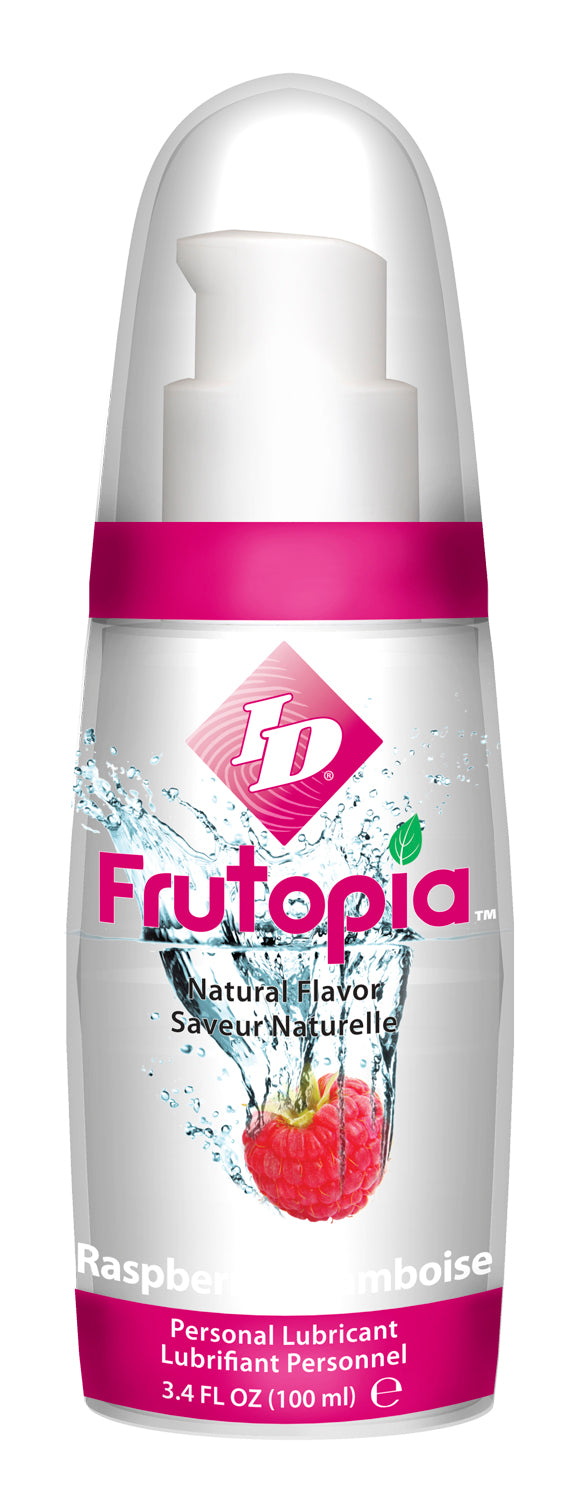 ID FRUTOPIA NATURAL RED RASPBERRY 3.4 OZ -IDTRE10