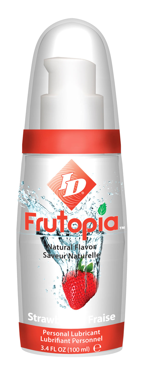 ID FRUTOPIA NATURAL STRAWBERRY 3.4 OZ -IDTSE10
