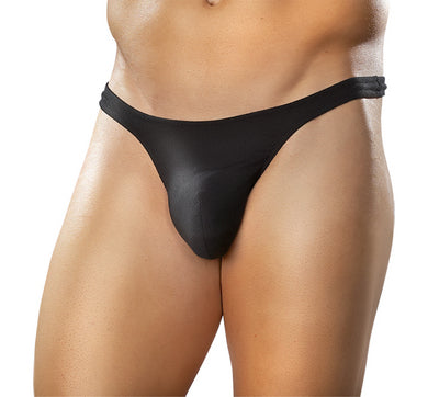 WONDER THONG SLINKY BLACK MEDIUM