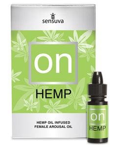 ON FOR HER HEMP OIL 5ML BOTTLE -ONVL175L