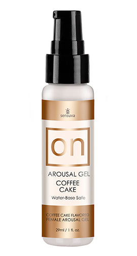 ON FOR HER AROUSAL GEL COFFEE CAKE 1OZ -ONVL196