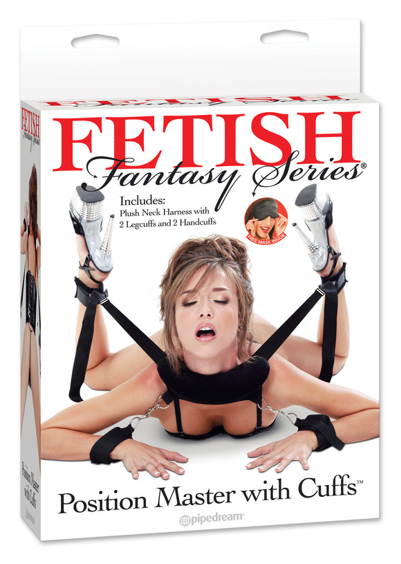 FETISH FANTASY POSITION MASTER W / CUFFS -PD215423
