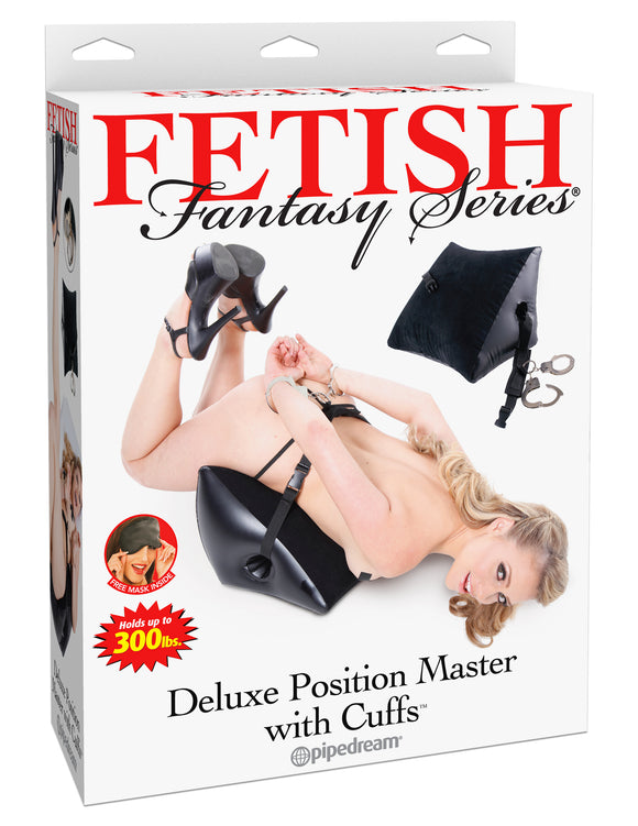 FETISH FANTASY DELUXE POSITION MASTER W/CUFFS -PD217623