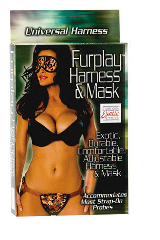FURPLAY HARNESS &MASK BROWN -SE151020