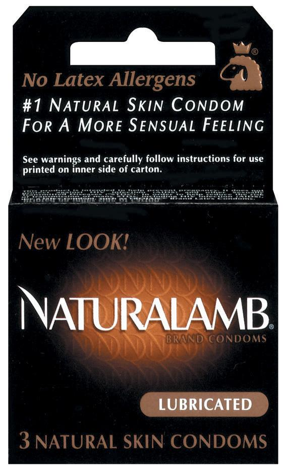 TROJAN NATURALAMB CONDOMS 3PK -T98050