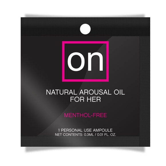 ON NATURAL AROUSAL OIL FOIL PACK -ONVL180