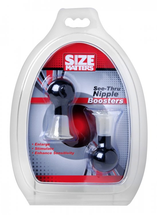 SIZE MATTERS SEE THRU NIPPLE ENLARGER PUMPS -XRAD409