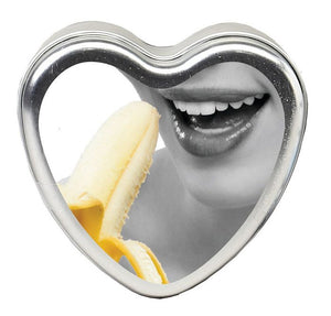 CANDLE 3-IN-1 HEART EDIBLE BANANA DAIQUIRI 4.7 OZ -EBHSCK010