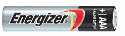 ENERGIZER AAA BATTERIES 4 PACK -NO725
