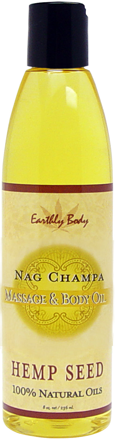 MASSAGE & BODY OIL NAG CHAMPA 8 OZ -EBMAS009