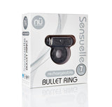 NU Sensuelle Bullet Ring 7 Function Cock Ring - BT-M36CL