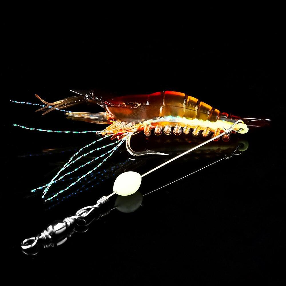 Lifelike Luminous Shrimp Bait