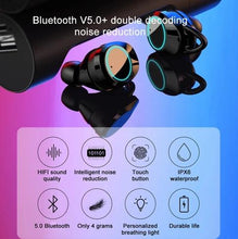 Load image into Gallery viewer, Bluetooth 5.0 Touch Control Earphone Mini Twins Wireless Earphones Stereo Headset
