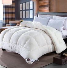 Load image into Gallery viewer, Christmas Sale!-Thicken Shearling Blanket Winter Soft Warm Bed Quilt For Bedding Twin Full Queen King Size