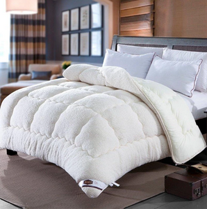Christmas Sale!-Thicken Shearling Blanket Winter Soft Warm Bed Quilt For Bedding Twin Full Queen King Size