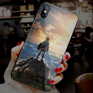 【Tempered Glass】Zelda Ultra-thin Shine Phone Case