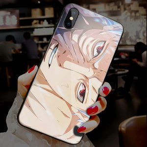 【Tempered Glass】Naruto (Vertical) Ultra-thin Shine Phone Case