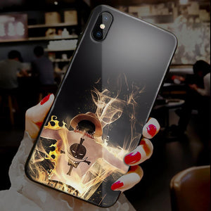 【Tempered Glass】One Piece Ultra-thin Shine Phone Case