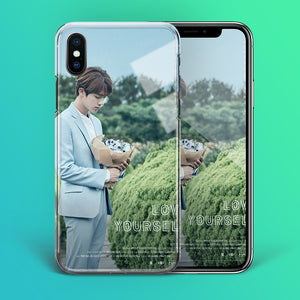 【Tempered Glass】BTS Jin Love Yourself Theme Phone Case