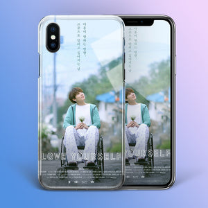 【Tempered Glass】BTS Jungkook Love Yourself Theme Phone Case