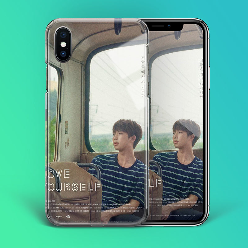 【Tempered Glass】BTS RM Love Yourself Theme Phone Case