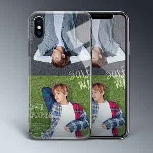 【Tempered Glass】BTS Love Yourself Theme v1 Phone Case