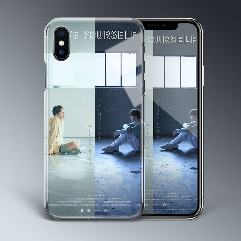 【Tempered Glass】BTS Love Yourself Theme Phone Case