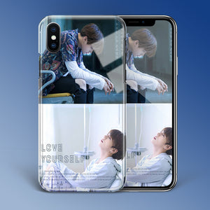 【Tempered Glass】BTS Love Yourself Theme v2 Phone Case