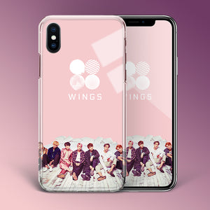 【Tempered Glass】BTS Wings Theme v1 Phone Case