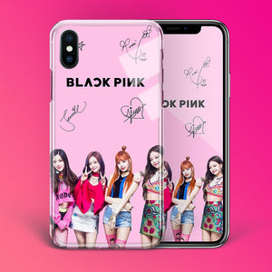 【Tempered Glass】BLACKPINK Signed Phone Case
