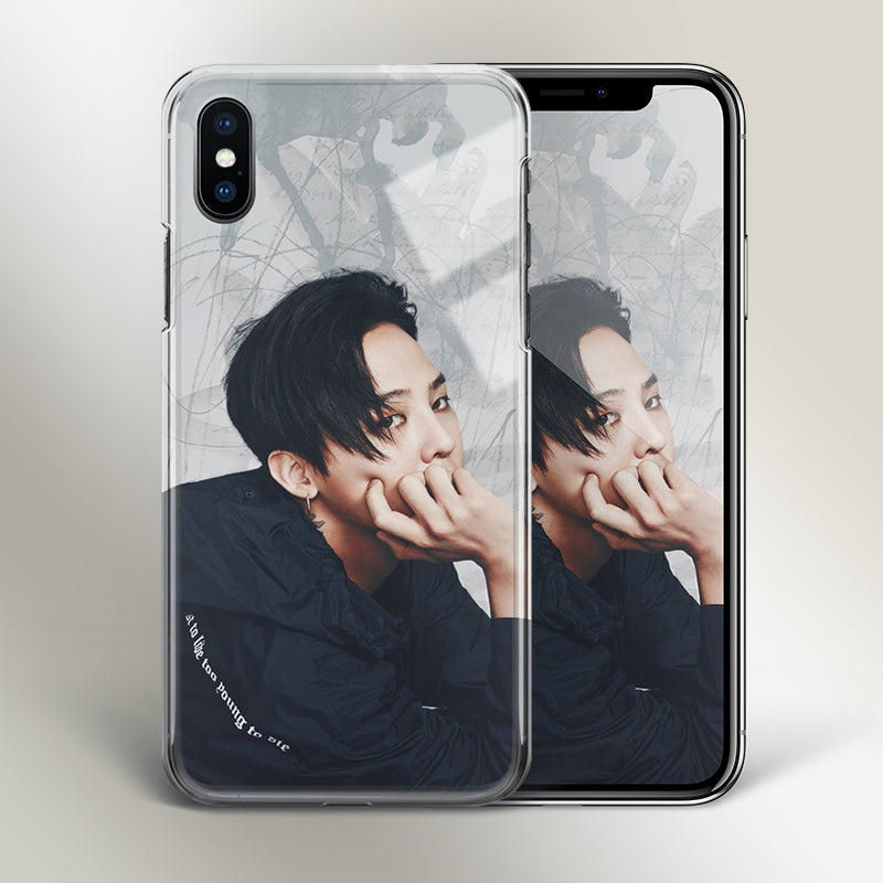 【Tempered Glass】Big Bang G-Dragon V1 Phone Case