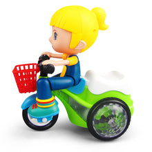 Load image into Gallery viewer, Super Sports Car Stunt Tricycle Toy
