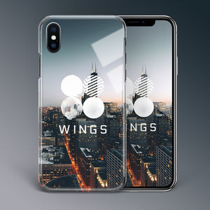 【Tempered Glass】BTS Wings Theme Phone Case