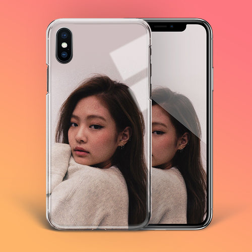 【Tempered Glass】BLACKPINK Jennie V1 Phone Case