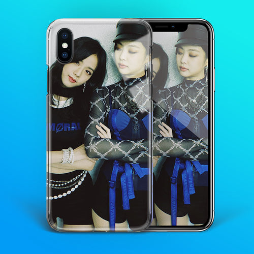 【Tempered Glass】BLACKPINK Jisoo & Jennie Phone Case