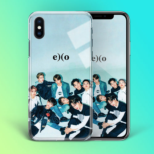 【Tempered Glass】EXO Theme V2 Phone Case
