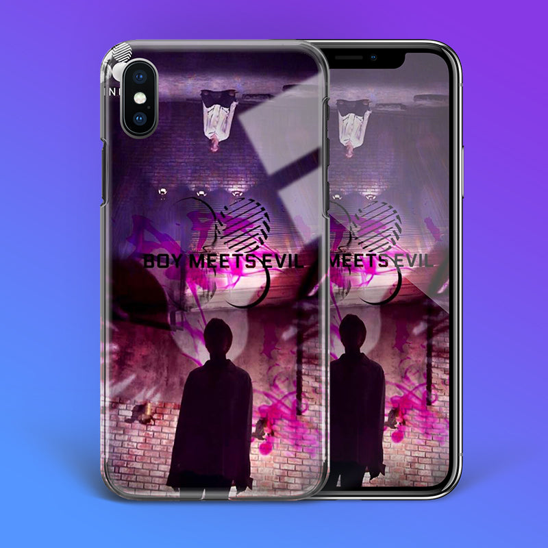 【Tempered Glass】BTS Jimin Boy Meets Evil Theme Phone Case