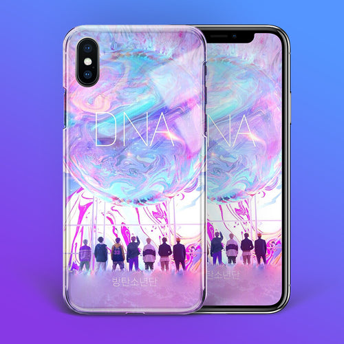 【Tempered Glass】BTS DNA Theme Phone Case