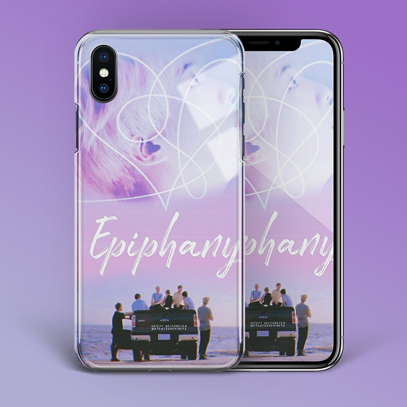 【Tempered Glass】BTS Epiphany Theme Phone Case