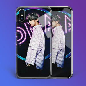 【Tempered Glass】BTS V DNA Theme Phone Case